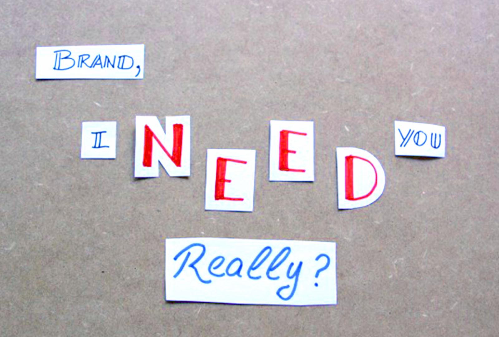 Las Marcas NO Crean Necesidades